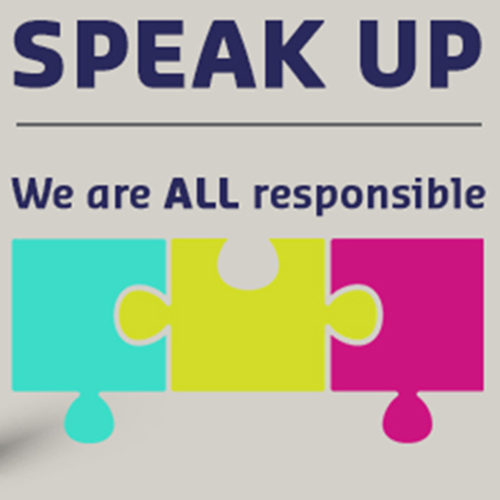 Speak up: we are all responsible