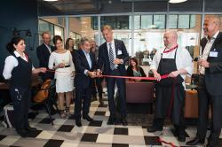 Opening of the Sodexo Nordic House